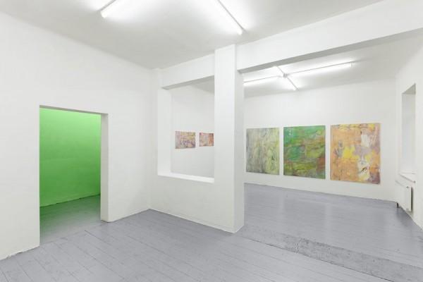 Lukas Quietzsch, Installation view, Galerie Tobias Naehring, Leipzig