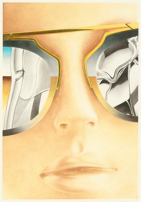 Sebastian Burger, Plan, 2016 Oil on paper, 50 x 35 cm, Galerie Tobias Naehring