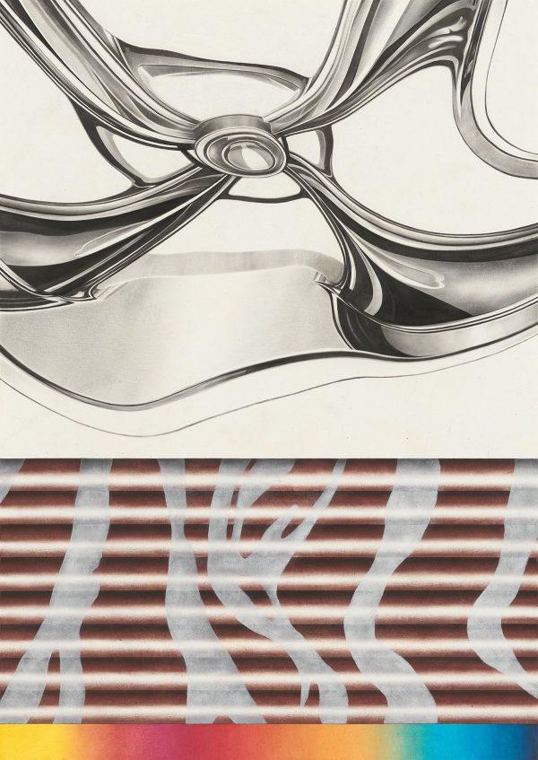 Sebastian Burger, 'Roto', 2015, Oil on paper, 70 × 50 cm, Galerie Tobias Naehring